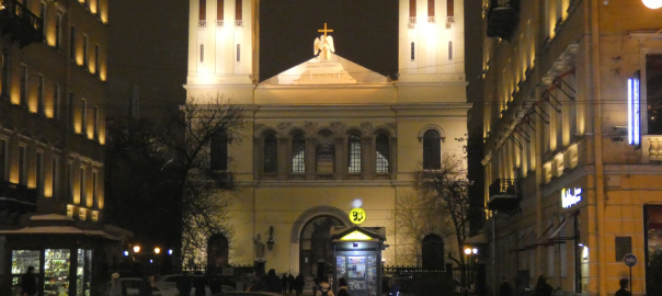 St. Petersburg - Petrikirche